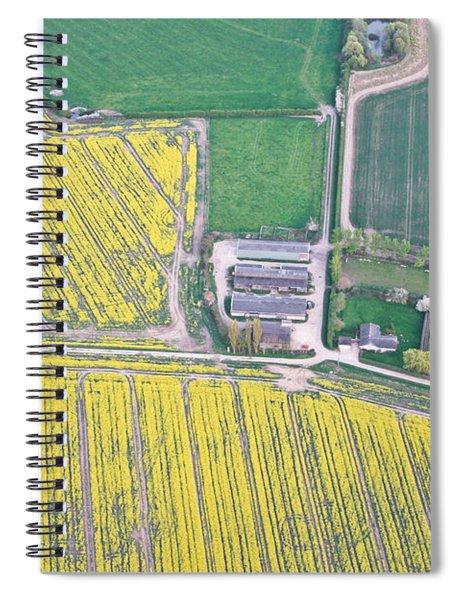 English Farm Spiral Notebook