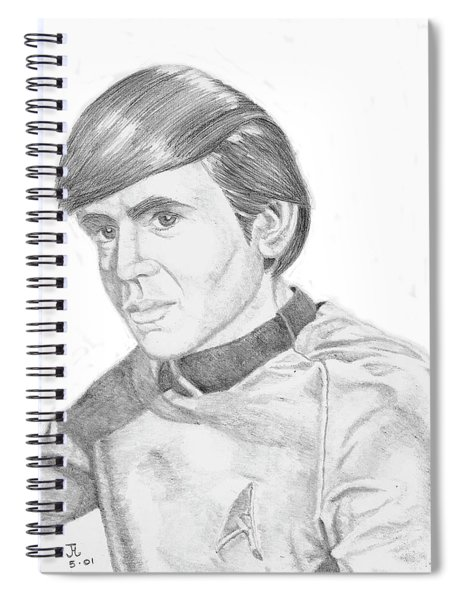 Ensign Pavel Chekov Spiral Notebook