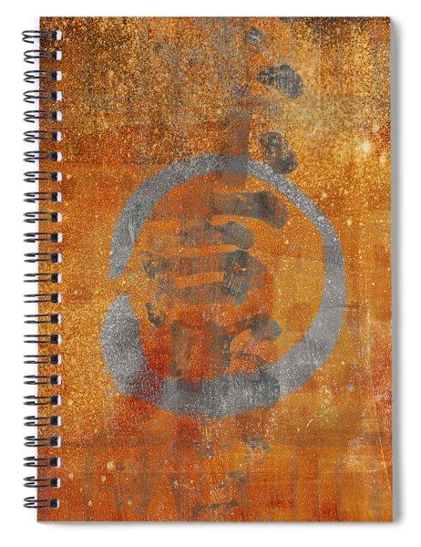 Enso Circle Spiral Notebook