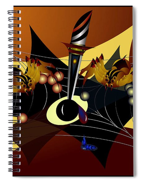 Tensions Spiral Notebook