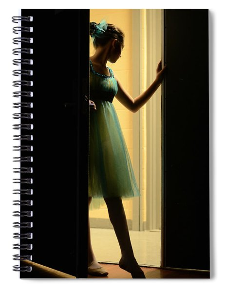 Enter Upon This Stage Spiral Notebook