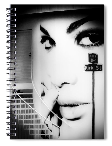 Entrance To A Woman's Mind Spiral Notebook