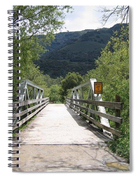 Entrance To Garland Park Spiral Notebook