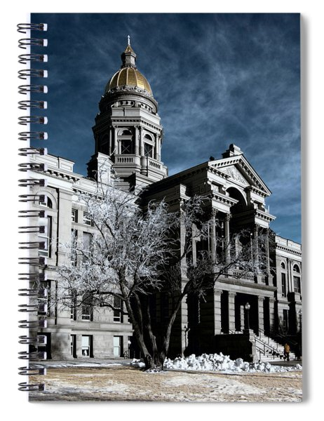Equality State Dome Spiral Notebook