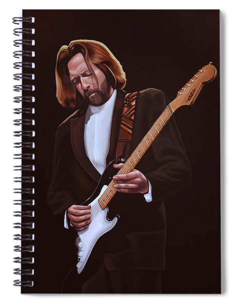Eric Clapton Painting Spiral Notebook