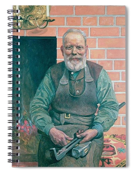 Erik Erikson The Blacksmith Spiral Notebook
