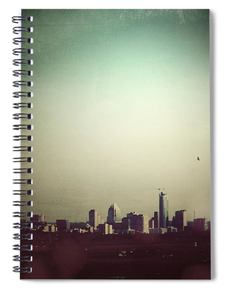 Escaping The City Spiral Notebook