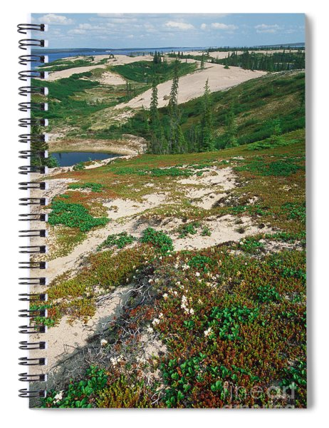 Eskers Spiral Notebook