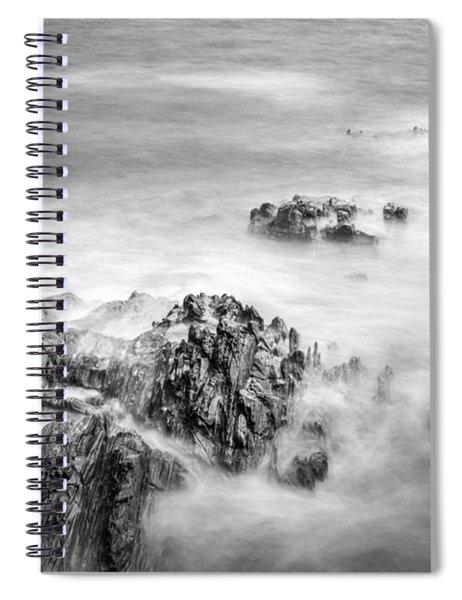 Estacas Beach Galicia Spain Spiral Notebook