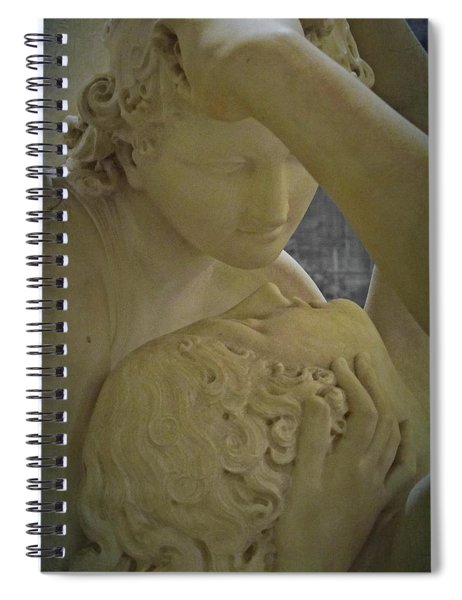 Eternal Love - Psyche Revived By Cupid's Kiss - Louvre - Paris Spiral Notebook