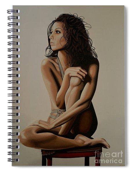 Eva Longoria Painting Spiral Notebook