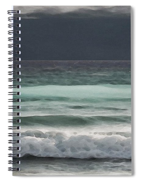 Even Tides Spiral Notebook