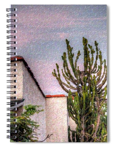 Evening Descends  Spiral Notebook
