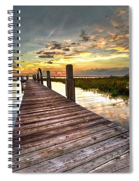 Evening Dock Spiral Notebook