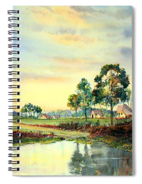 Evening Falls Spiral Notebook