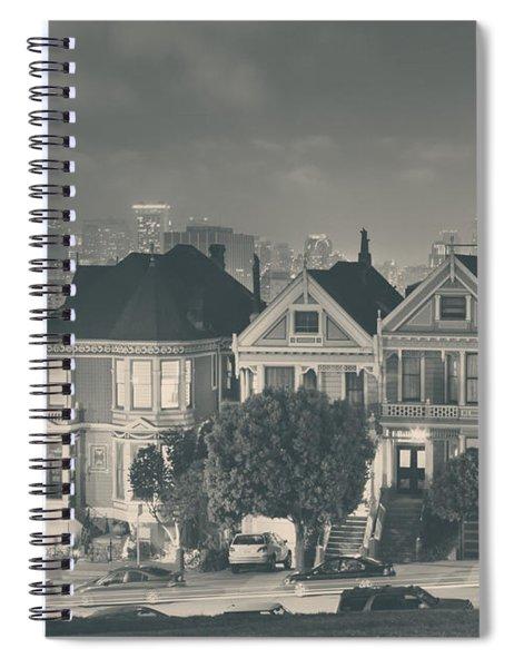 Evening Rendezvous Spiral Notebook