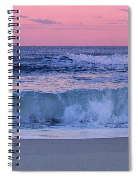 Evening Waves - Jersey Shore Spiral Notebook