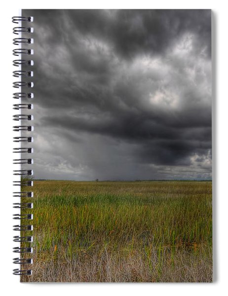 Everglades Storm Spiral Notebook