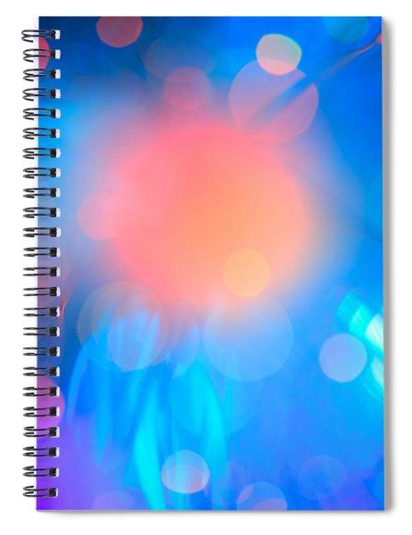 Evolution Orange Spiral Notebook