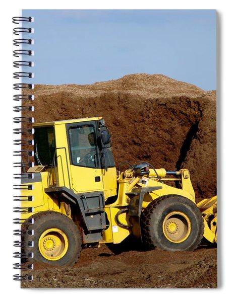 Excavation  Spiral Notebook
