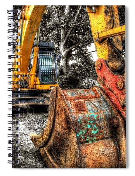 Excavator Spiral Notebook