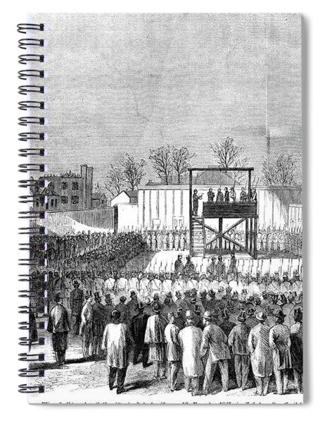 Execution Of Henry Wirzhenry Wirz Spiral Notebook