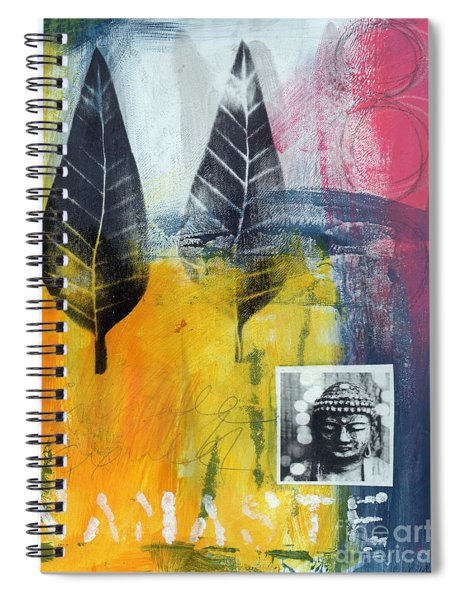Exhale Spiral Notebook by Linda Woods