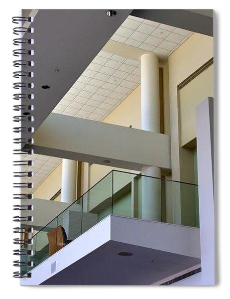 Exhibit Hall - Savannah Spiral Notebook
