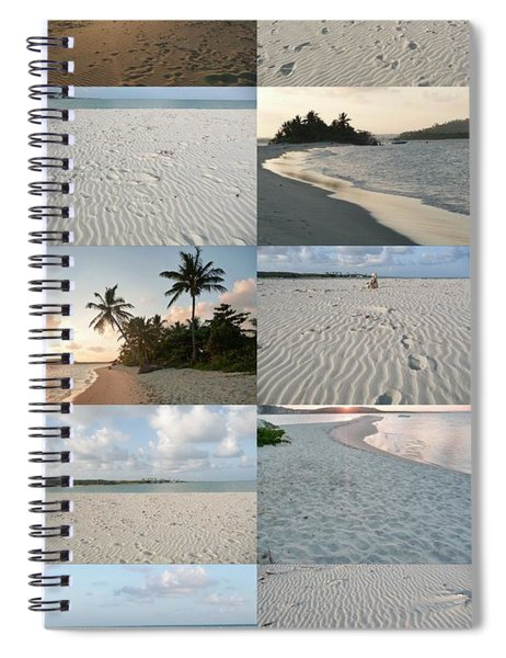 Exotic Touch By Julia Fine Art Spiral Notebook