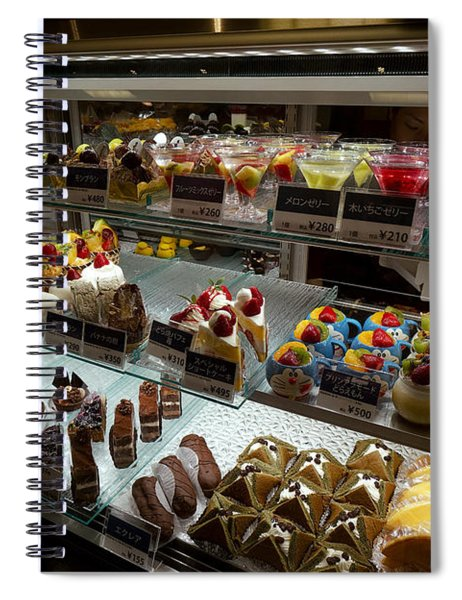 Exquisite Kyoto Desserts Spiral Notebook