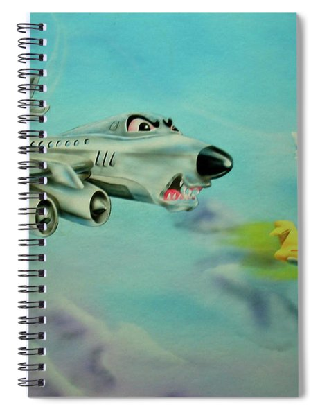 Extreme Airline Mergers Spiral Notebook