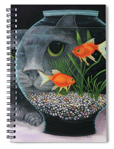 Eye To Eye Sq Spiral Notebook