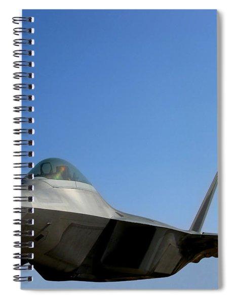 F22 Raptor  Spiral Notebook