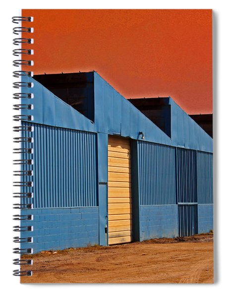 Factory Building Spiral Notebook