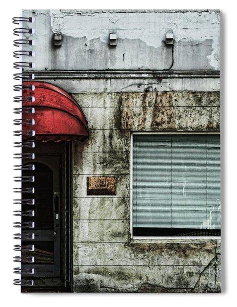 Fading Facade Spiral Notebook