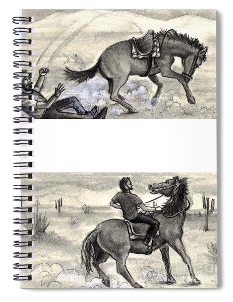 Failure And Success Spiral Notebook