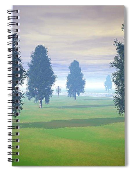 Fairway To Seven Spiral Notebook