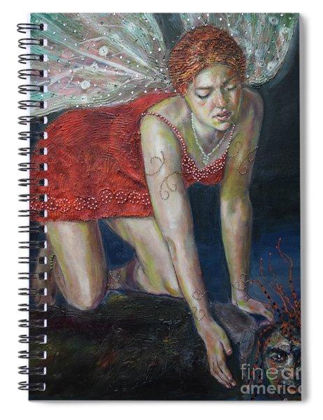 Fairy Faces Bugaboo Spiral Notebook