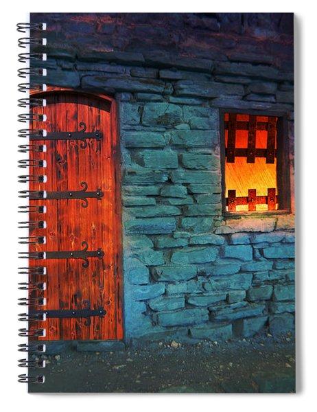 Fairy Tale Cabin Spiral Notebook