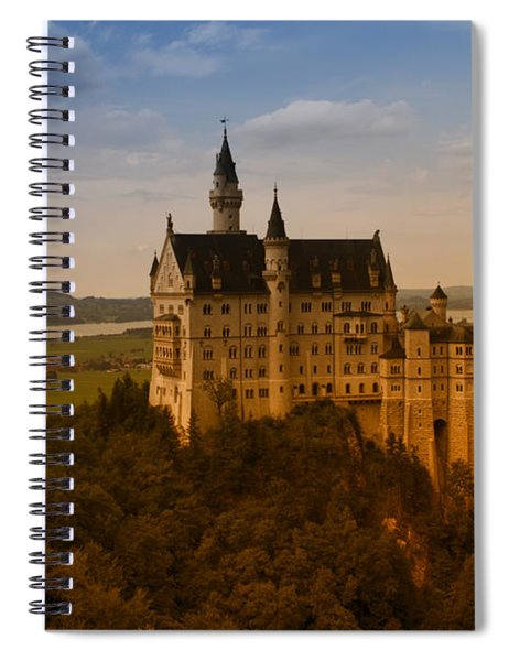Fairy Tale Castle Spiral Notebook