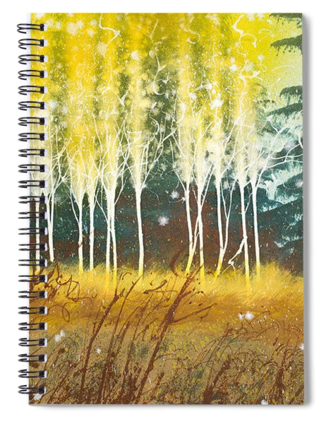 Fairy Trees Spiral Notebook