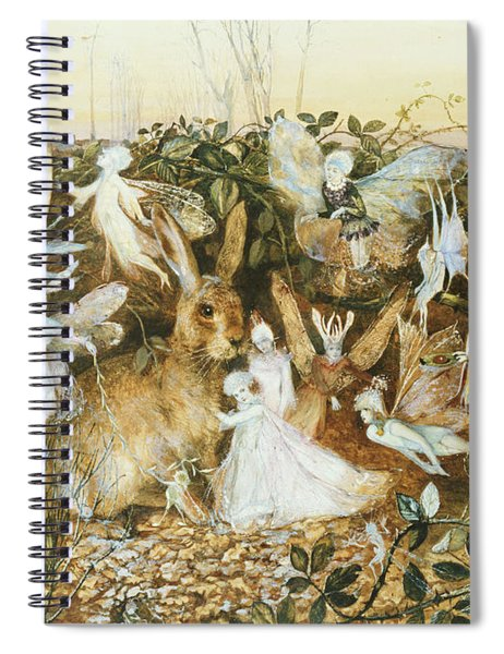 Fairy Twilight Spiral Notebook