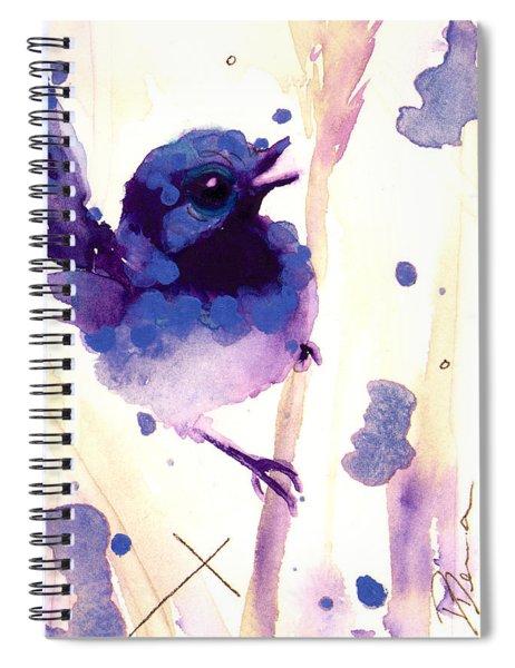 Fairy-wren Spiral Notebook