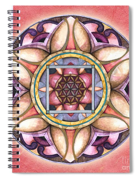 Faith Mandala Spiral Notebook