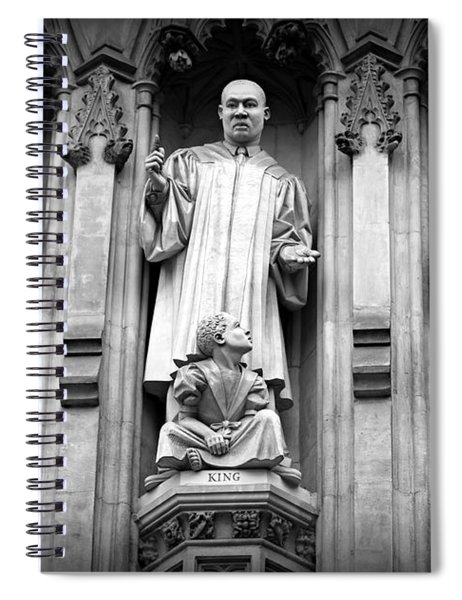 Faithful Witnesses -- Martin Luther King Jr Remembered With Bishop Romero And Duchess Elizabeth Spiral Notebook
