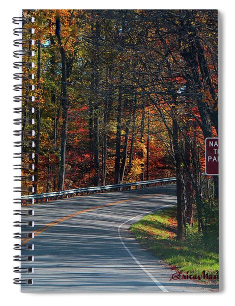 Fall Drive In Tennessee  1 Spiral Notebook