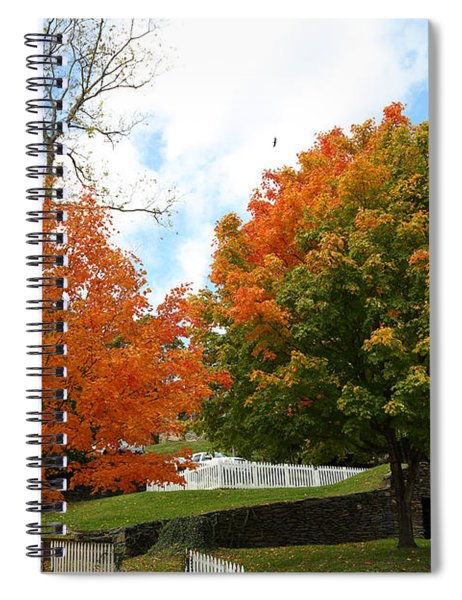 Fall Foliage Colors 09 Spiral Notebook
