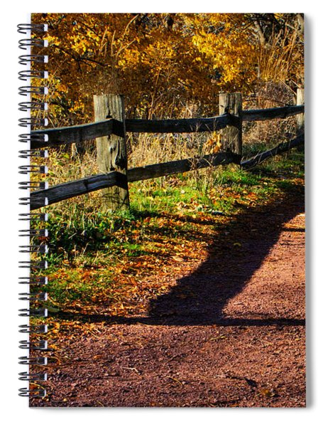 Fall In Chicago Spiral Notebook