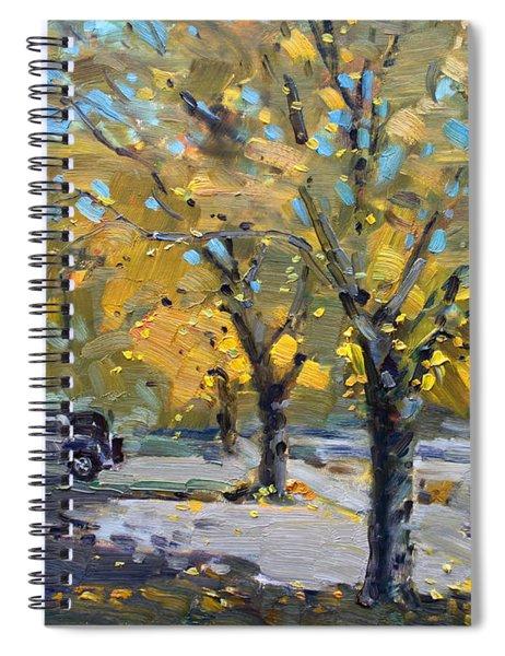 Fall In Silverado Dr  Spiral Notebook