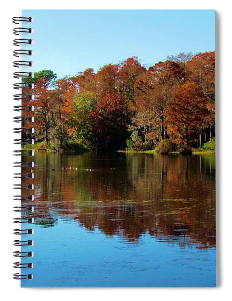 Fall In The Air Spiral Notebook